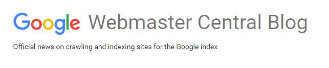 Googleウェブマスターセントラルブログ